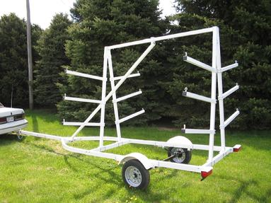 6 SLOT CANOE TRAILER BY MAGNETA TRAILERS