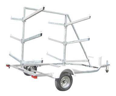 18 place kayak trailer UKT18LPHD magneta trailers