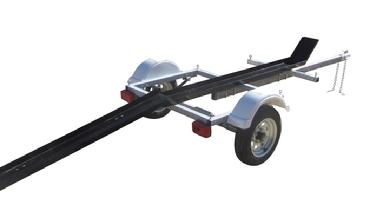 single motorcycle trailer Magneta Trailers Inc