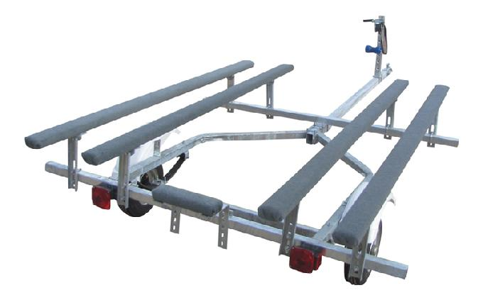 inflatable boat & paddle boat trailer kit